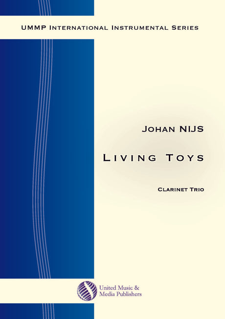 Nijs - Living Toys for Clarinet Trio - CT171105UMMP