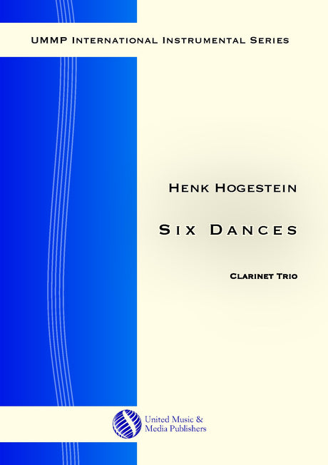 Hogestein - Six Dances for Clarinet Trio - CT171112UMMP
