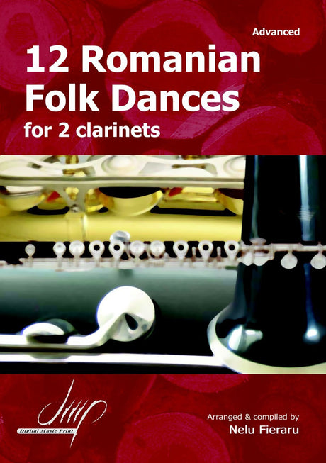 Fieraru - 12 Romanian Folk Dances (Clarinet Duet) - CD107113DMP