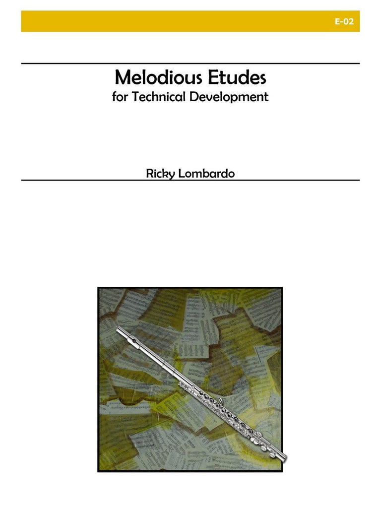 Lombardo - Melodious Etudes for Technical Development - E02