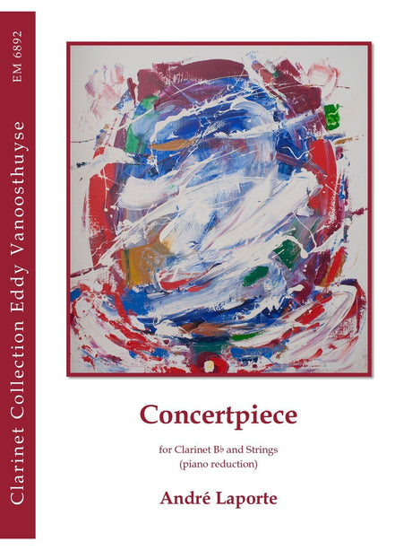 Laporte - Concertpiece (Clarinet and Piano) - CP6892EM