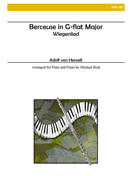von Henselt - Berceuse in G-flat for Flute and Piano - EMC09
