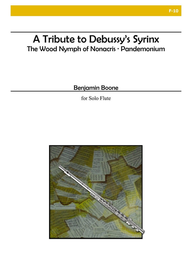 "Boone - A Tribute to Debussy's ""Syrinx"" - F10"