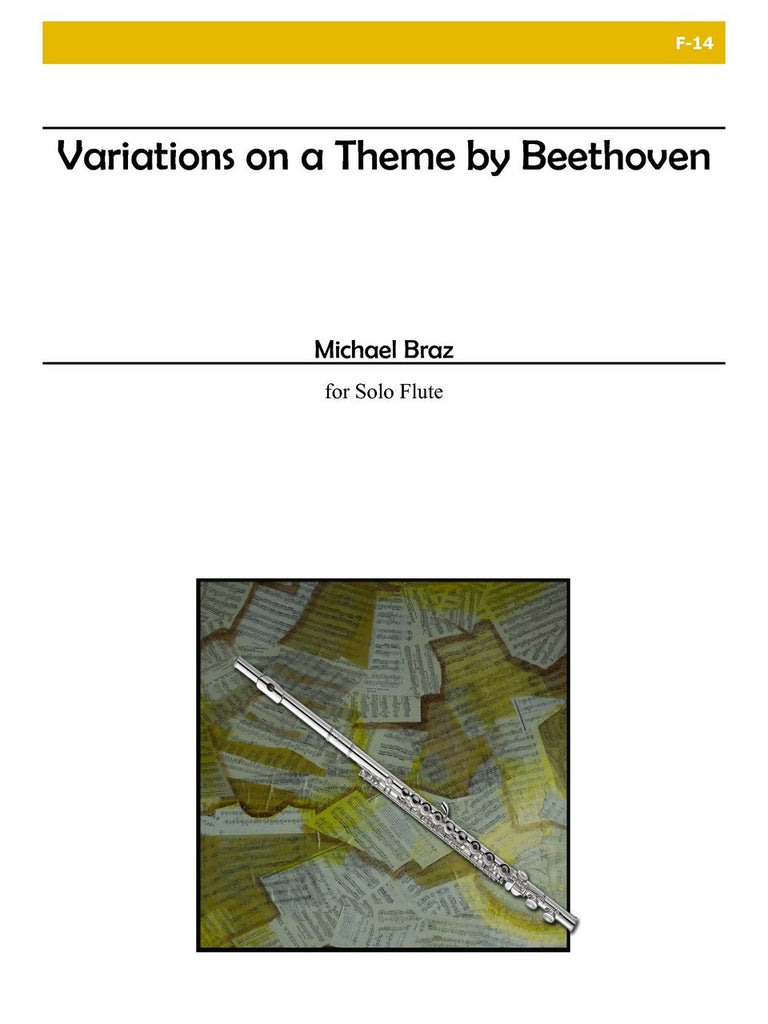 Braz - Variations on a Theme of Beethoven - F14
