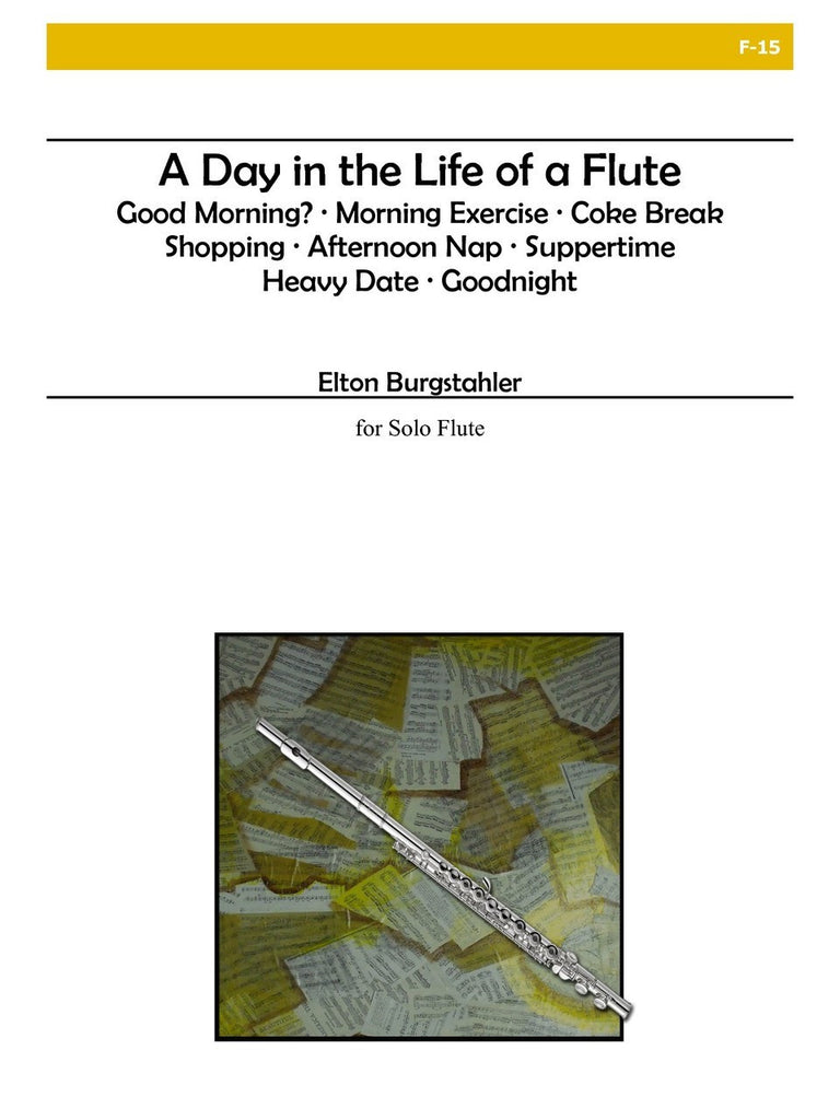 Burgstahler - A Day in the Life of a Flute - F15