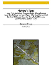 Boone - Nature's Song - F16
