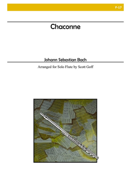 Bach - Chaconne for Solo Flute - F17