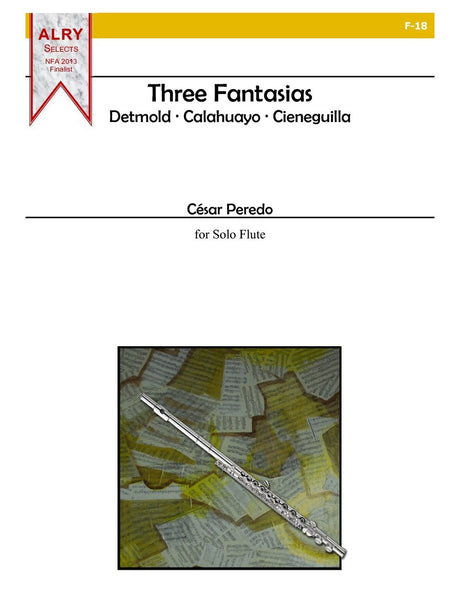 Peredo - Three Fantasias - F18