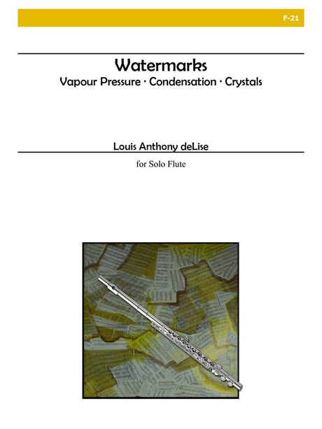 deLise - Watermarks (Flute Solo) - F21