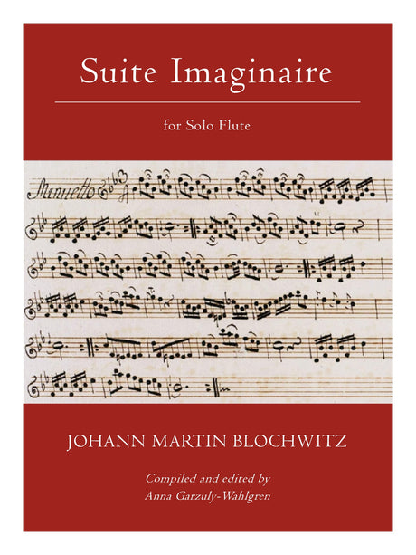 Blochwitz (ed. Garzuly-Wahlgren) - Suite Imaginaire for Solo Flute - F30