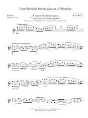 Nourse - Four Preludes for the Season of Worship for Solo Flute - F32NW