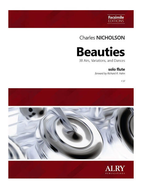 Beauties: 38 Airs, Variations, and Dances for Solo Flute - F37