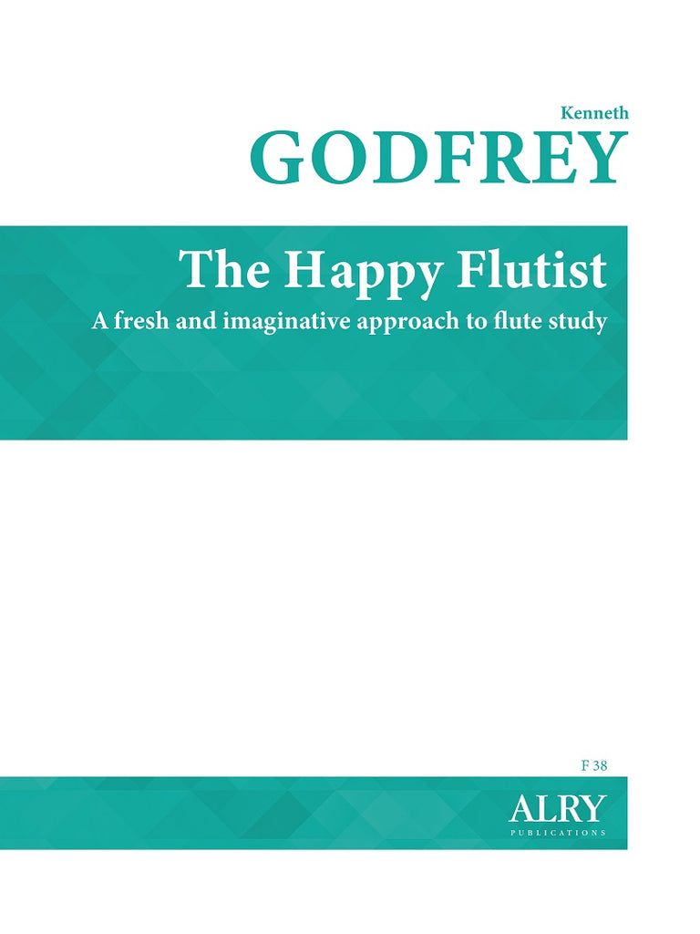 Godfrey - The Happy Flutist for Flute Alone - F38
