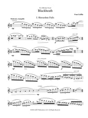 Griffin - Blackheath for Solo Flute - F39