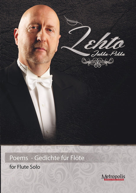 Lehto - Poems for Solo Flute - F6908EM