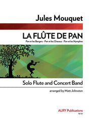 Mouquet (arr. Johnston) - La Flute de Pan (Solo Flute and Concert Band) - FB101