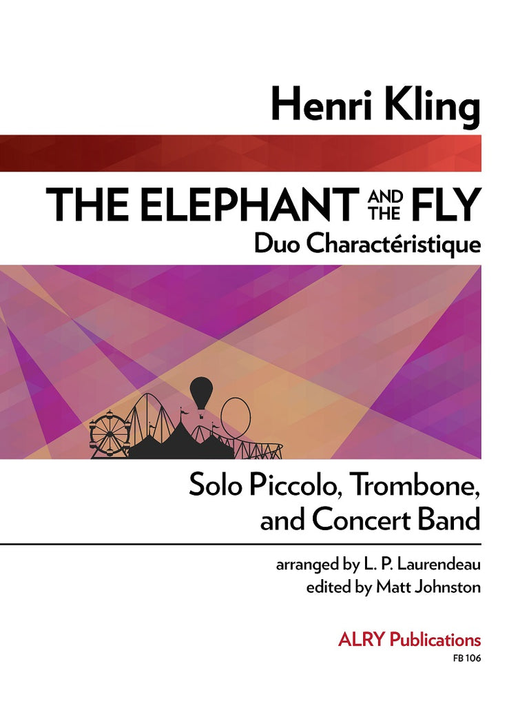 Kling (arr. Laurendeau/Johnston) - The Elephant and the Fly - FB106