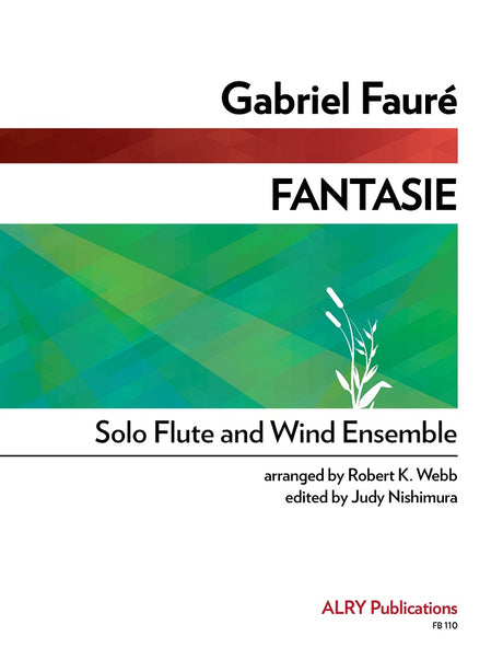 Faure (arr. Webb/Nishimura) - Fantasie (Solo Flute and Concert Band) - FB110