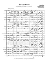 Purdy (arr. Johnston/Gippo) - Yankee Doodle for Piccolo and Concert Band - FB113