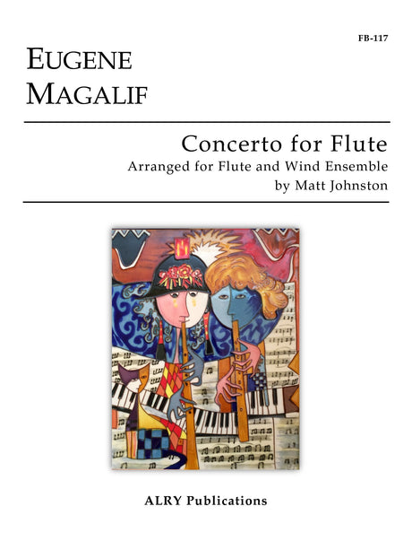 Magalif - Concerto for Flute and Wind Ensemble (Full Score and Parts) - FB117