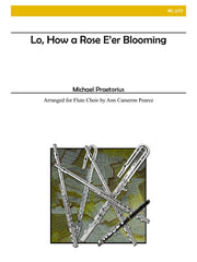 Praetorius/Pearce - Lo, How a Rose E'er Blooming - FC177