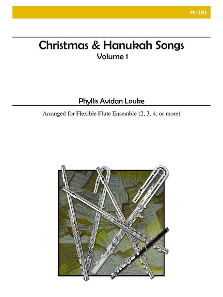 Louke - Christmas and Hanukah Songs, Volume 1 (Flexible Flute Ensemble) - FC181