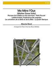 Ravel - Ma Mere L'Oye (Mother Goose Suite) - Flute Choir - FC210
