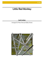 Jordan - Little Red Monkey (Flute Choir) - FC261