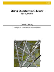 Debussy - String Quartett in G minor, Op. 10, part III - FC272