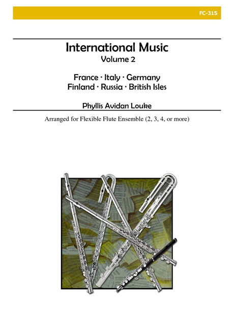 Louke - International Music, Vol. 2 (Flexible Flute Ensemble) - FC315