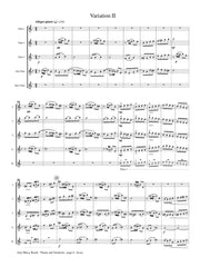 Beach (arr. Saathoff) - Theme and Variations, Op. 80 - FC379