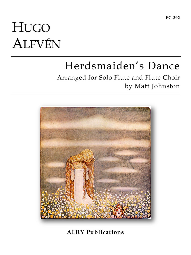Alfven (arr. Johnston) - Herdsmaiden's Dance (Solo Flute and Flute Choir) - FC392