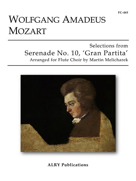 Mozart (arr. Melicharek) - Selections from Serenade No. 10 (Flute Choir) - FC465