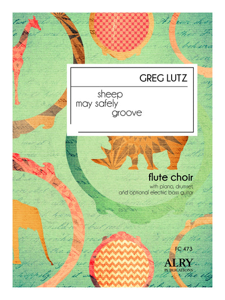 Lutz - Sheep May Safely Groove for Flute Choir - FC473