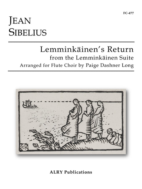 Sibelius (arr. Long) - Lemminkainen's Return for Flute Choir - FC477