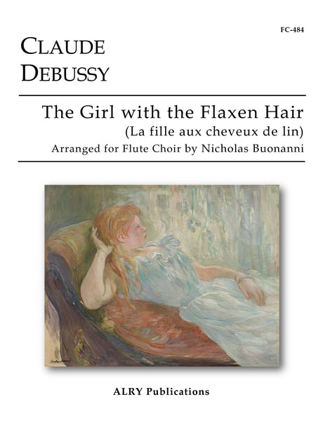 Debussy (arr. Buonanni) - The Girl with the Flaxen Hair for Flute Choir - FC484