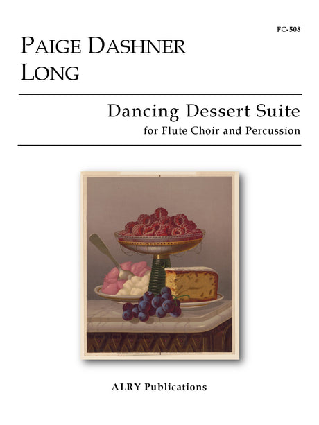 Long - Dancing Dessert Suite for Flute Choir and Percussion - FC508