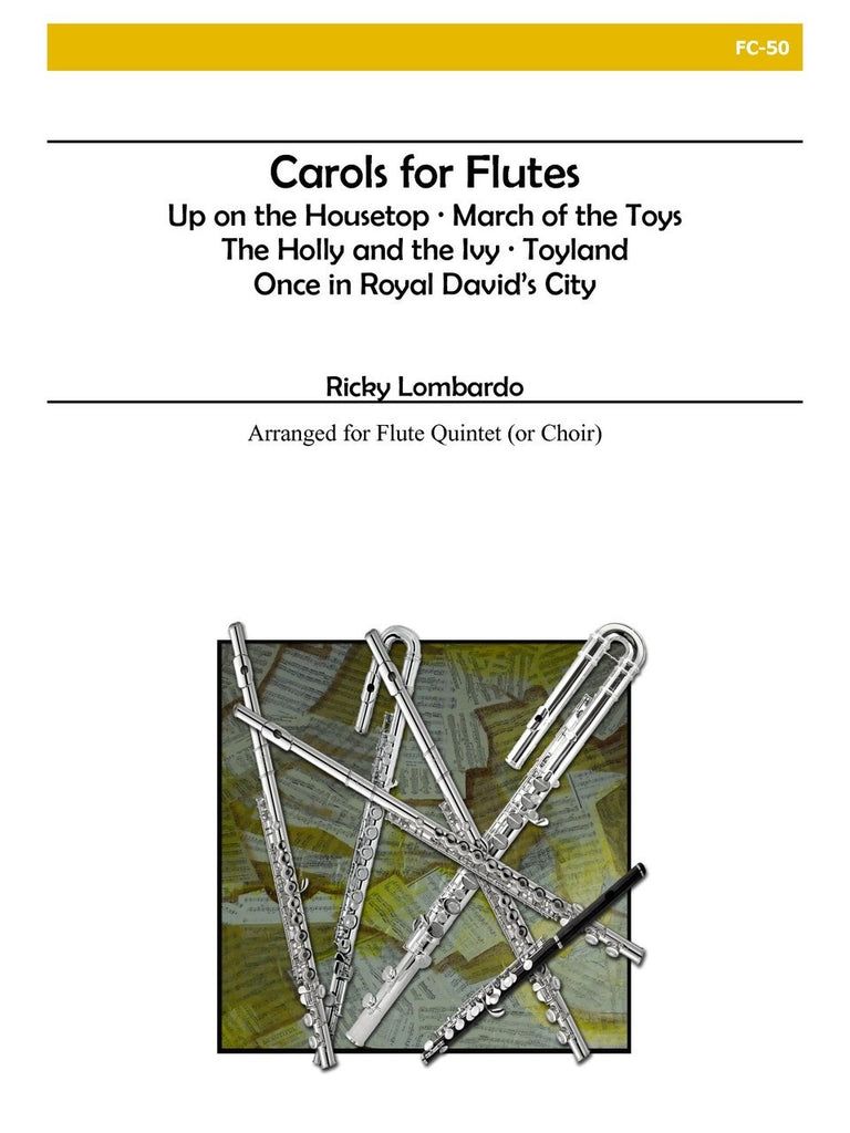 Lombardo - Carols for Flutes - FC50