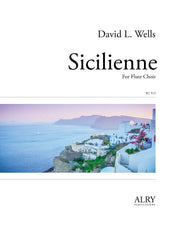 Wells - Sicilienne for Flute Choir - FC515