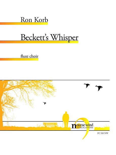 Korb - Beckett's Whisper for Flute Choir - FC705NW