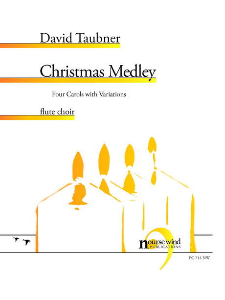Taubner - Christmas Medley for Flute Choir - FC714NW