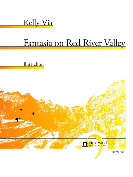 Via - Fantasia on Red River Valley for Flute Choir - FC724NW