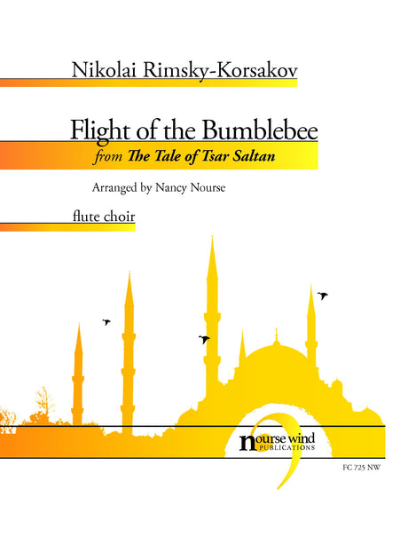 Rimsky-Korsakov (arr. Nourse) - Flight of the Bumblebee for Flute Choir - FC725NW