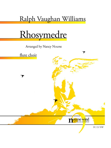 Vaughan Williams (arr. Nourse) - Rhosymedre for Flute Choir - FC737NW