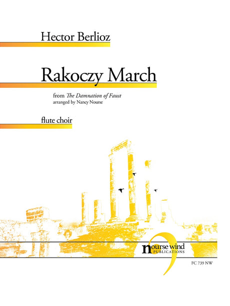 Berlioz (arr. Nourse) - Rakoczy March for Flute Choir - FC739NW