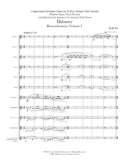 Via - Debussy, Remembrances: Volume 1 for Flute Choir - FC740NW