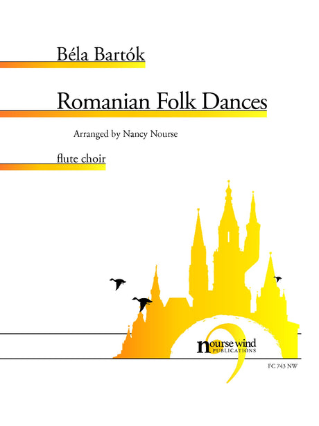 Bartok (arr. Nourse) - Romanian Folk Dances for Flute Choir - FC743NW