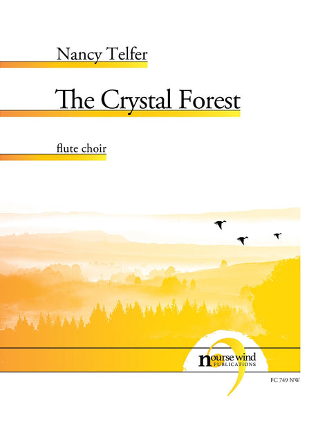 Telfer - The Crystal Forest for Flute Choir - FC749NW