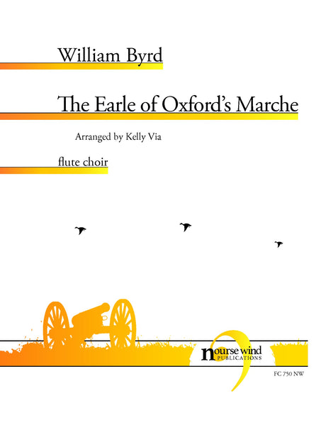 Byrd (arr. Via) - The Earle of Oxford's Marche for Flute Choir - FC750NW