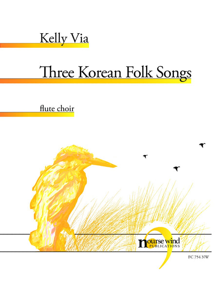Via - Three Korean Folk Songs for Flute Choir - FC754NW